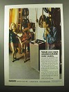 1969 Oasis Water Cooler Ad - Nobody Pays Attention