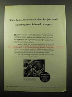 1969 Warner & Swasey Turret Lathes Ad - Join Hands