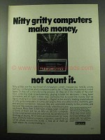 1969 Digital PDP-8/L Computer Ad - Nitty Gritty