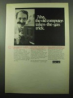 1969 Digital Computerpacks Ad - Takes-the-Gas Trick