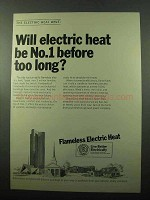1969 Edison Electric Institute Ad - Electric Heat No. 1