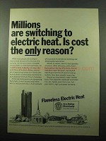 1969 Edison Electric Institute Ad - Millions Switching