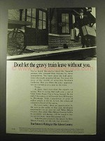 1969 Ohio Edison Ad - Don't Let Gravy Train Leave