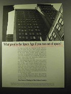 1969 Ohio Edison Ad - What Good Is The Space Age