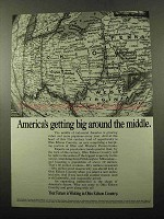 1969 Ohio Edison Ad - America's Getting Big