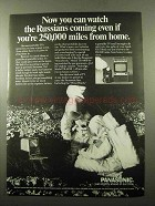 1969 Panasonic TV Ad - Stonybrook TR-449B & Oakridge