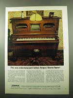 1969 Ampex Stereo Tapes Ad - This Was Entertainment
