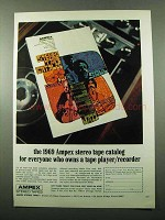 1969 Ampex Stereo Tapes - For Everyone Who Owns