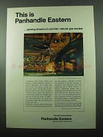 1969 Panhandle Eastern Ad - Premier Natural Gas Market