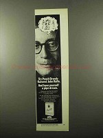 1969 House of Edgeworth John Rolfe Tobacco Ad - Peach