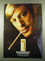 1969 Tiparillo LP Cigar Ad - The Long Playing Cigar