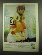 1969 Tiparillo Cigar Ad - Gentleman Offer to a Jockey