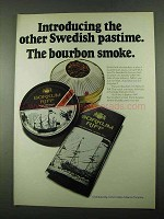 1969 Borkum Riff Tobacco Ad - The Other Swedish Pastime