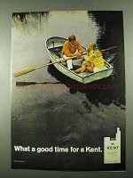 1969 Kent Cigarettes Ad - a Good Time For a Kent