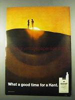 1969 Kent Cigarettes Ad - What a Good Time