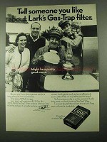1969 Lark Cigarettes Ad - Movers