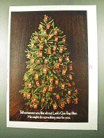 1969 Lark Cigarettes Ad - Christmas Tree