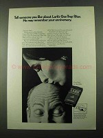 1969 Lark Cigarettes Ad - May Remember Your Anniversary