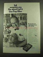 1969 Lark Cigarettes Ad - Tell Someone About Filter