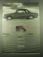 1969 Toyota Corona Car Ad - Put Automatic Transmission