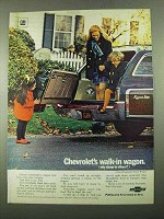 1969 Chevrolet 3-Seat Kingswood Estate Wagon Ad