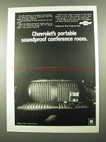1969 Chevrolet Impala Custom Coupe Ad - Soundproof