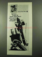 1969 Beseler Super D Camera Ad - Photo Micrographer
