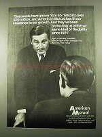 1969 American Mutual Ad - Our Assets Have Grown