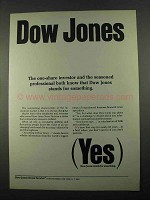 1969 Dow Jones Ad - One-Share Investor