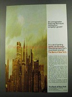 1969 Bank of New York Ad - Unimaginative Financing
