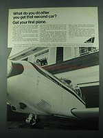 1969 Avco Lycoming Engine Ad - Cherokee 235 Plane