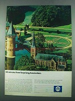 1969 KLM Royal Dutch Airlines Ad - Surprising Amsterdam