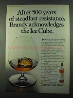 1969 Coronet VSQ Brandy Ad - 500 Years of Resistance