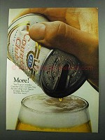 1969 Country Club Malt Liquor Ad - More!