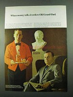 1969 Old Grand-Dad Bourbon Ad - When Money Talks