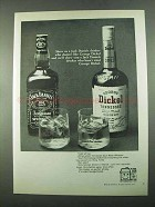 1969 George Dickel Whisky Ad - Drinker