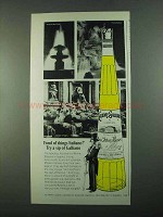 1969 Galliano Liqueur Ad - Fond of Things Italiano?