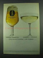 1969 Lowenbrau Beer Ad - If They Run Out Champagne