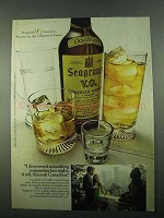 1969 Seagram's V.O. Canadian Whisky Ad - Interesting