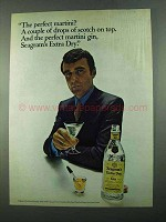 1969 Seagram's Extra Dry Gin Ad - The Perfect Martini?
