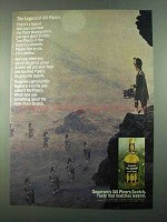 1969 Seagram's 100 Pipers Scotch Ad - The Legend