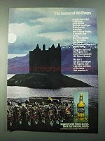 1969 Seagram's 100 Pipers Scotch Ad - The Legend Of