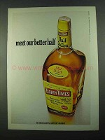 1969 Early Times Bourbon Ad - Meet Our Better Half