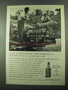 1969 Jack Daniel's Whiskey Ad - Truckload of Hard Maple