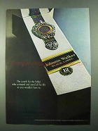 1969 Johnnie Walker Black Label Scotch Ad - For Father