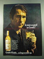 1969 Grant's 8 Scotch Ad - Is Yours As Good