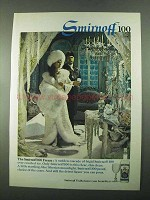 1969 Smirnoff 100 Vodka Ad - The Smirnoff 100 Freeze