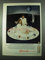 1969 Smirnoff Vodka Ad - Taurus Meets Virgo
