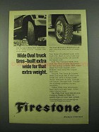 1969 Firestone Tire Ad - Town & Country, Transport