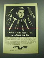 1969 Channellock Tools Ad - You're a Hand Tool Crank